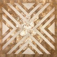 WALLFACE LU04-5 Panel de pared 3D bronce