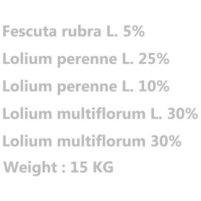 vidaXL Semillas de césped 15 kg