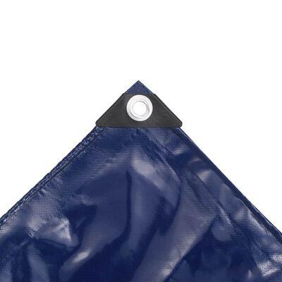 vidaXL Lona 650 g/m² 3x3 m azul