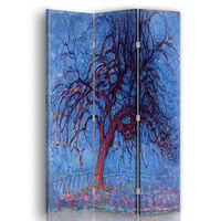 Biombo El Árbol Rojo - Piet Mondrian - Separador de Ambientes