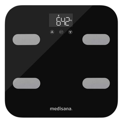 Medisana Báscula de análisis corporal BS 602 Connect Wi-Fi & Bluetooth