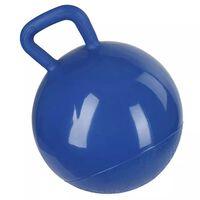 Kerbl Pelota de juguete para caballo 25 cm azul 32399