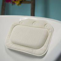 Sealskin Reposacabezas para bañera Unilux blanco 20x30 cm