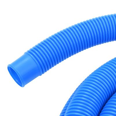 vidaXL Manguera de piscina con abrazaderas azul 38 mm 12 m