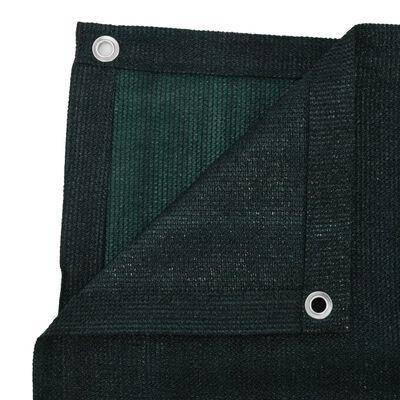 vidaXL Alfombra de tienda de campaña HDPE verde 300x600 cm