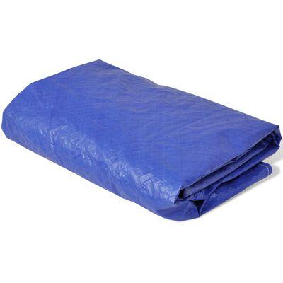 vidaXL Funda para cama elástica PE 360-367 cm 90 g/m²