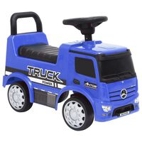 vidaXL Coche para niños Mercedes Benz Truck azul