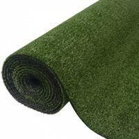 vidaXL Césped artificial 7/9 mm 1,33x10 m verde