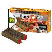 Pastilla Autoencend Fuego Net - CQM - 231122