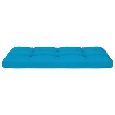 vidaXL Cojines para sofá de palets 2 piezas azul