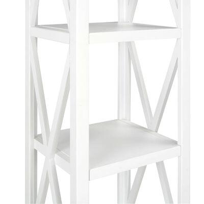 vidaXL Estantería con 1 cajón de MDF 40x30x170 cm blanca