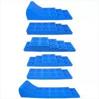 ProPlus Niveladores apilables para caravana plástico azul