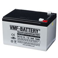 Batería de ciclo profundo AGM VMF DC12-12, 12 V, 12 Ah