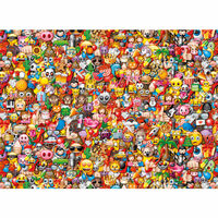 Clementoni Puzle Emoji Impossible 1000 piezas