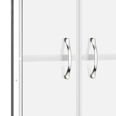 vidaXL Puerta de ducha ESG esmerilado 91x190 cm