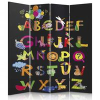 Biombo Party Time Alphabet - Separador de Ambientes