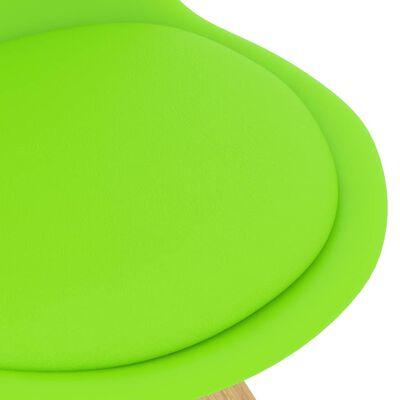 vidaXL Juego de comedor 3 piezas verde