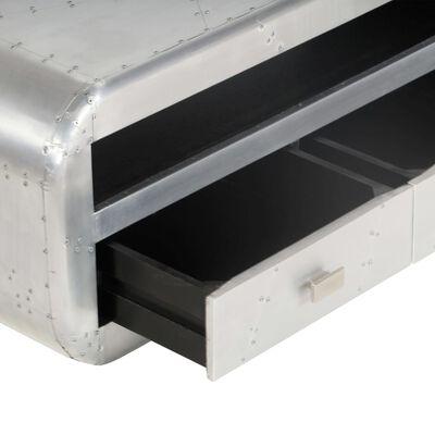 vidaXL Mueble para la TV vintage estilo aviador 140x30x30 cm