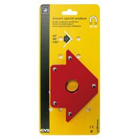 GYS Imán posicionador para soldar rojo 30x13,8x2,5 cm