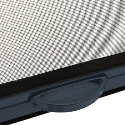 vidaXL Mosquitera enrollable para ventanas gris antracita 140x170 cm