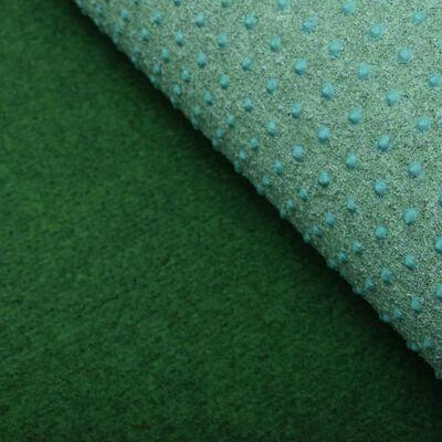 vidaXL Césped artificial con tacos PP 10x1 m verde