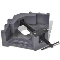 vidaXL Tornillo de banco de esquina manual 115 mm