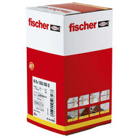 Fischer Set de tacos de cabeza avellanada Hammerfix N 8x100/60 S 50 uds