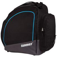 Summit Bolsa para botas de esquí negro y azul cobalto