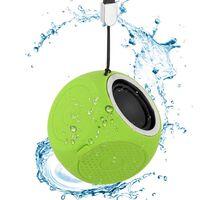 Altavoz bluetooth portátil IPX7 resistente al agua - Verde