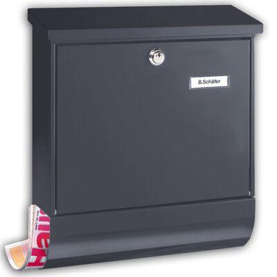 BURG-WÄCHTER Buzón Set Vario 86720 ANT acero gris antracita