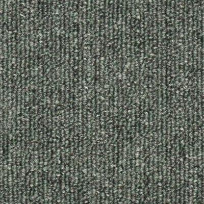 vidaXL Alfombras de peldaños de escalera 15 uds verde oscuro 56x17x3cm