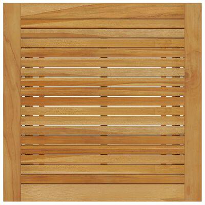vidaXL Mesa de comedor de jardín madera maciza de acacia 88x88x74 cm
