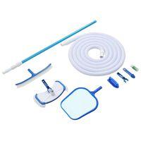 vidaXL Kit de mantenimiento de piscina 9 piezas