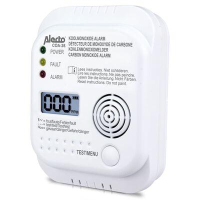 Alecto Detector de monóxido de carbono COA-26