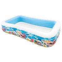 Intex Swim Center Piscina familiar vida marina 305x183x56 cm