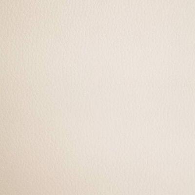 vidaXL Sillas de comedor 2 unidades cuero sintético color crema