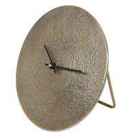 Gifts Amsterdam Reloj de escritorio Sun S aluminio dorado 20 cm