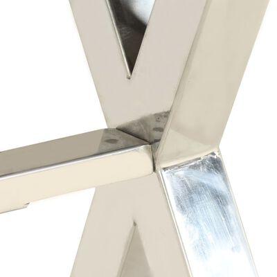 vidaXL Escritorio de acacia maciza acabado de sheesham 110x50x76 cm