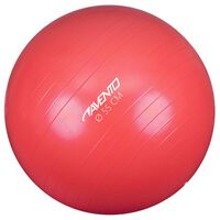 Avento Pelota de fitness/gimnasio 55 cm diámetro rosa