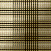 ALLOY Glomesh-Ti-GB Mosaico de metal sólido Titanio oro