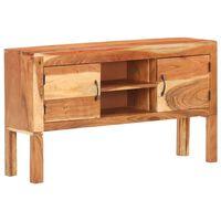 vidaXL Aparador de madera maciza de acacia 116x30x66 cm