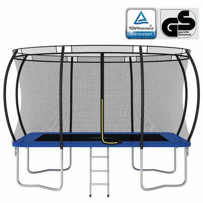 vidaXL Cama elástica rectangular 150 kg 335x244x90 cm