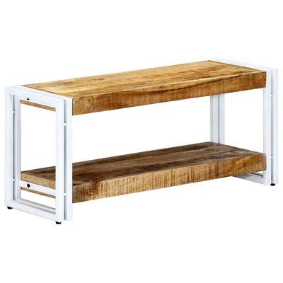 vidaXL Mueble para TV de madera maciza de mango 90x30x40 cm