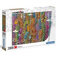 Clementoni Puzle Mordillo Jungle 2000 piezas