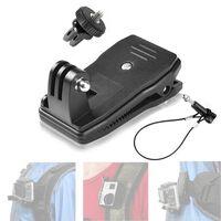 Abrazadera de mochila para GoPro con cierre de alambre