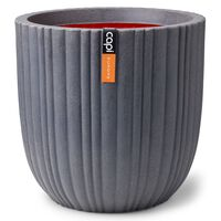 Capi Macetero Urban Tube gris oscuro 43x41 cm