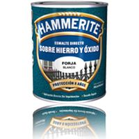 Esmalte Antioxido Forja Negro - HAMMERITE - 5196471 - 2,5 L