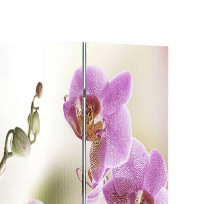vidaXL Biombo divisor plegable 160x170 cm flores