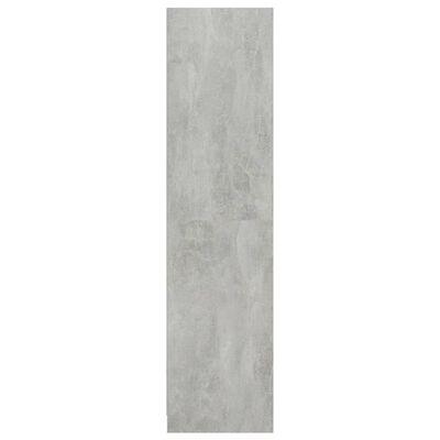 vidaXL Armario de aglomerado gris hormigón 50x50x200 cm