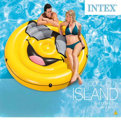 Intex Flotador para piscina Cool Guy Island 57254EU